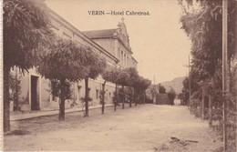 POSTCARD SPAIN ESPAÑA - GALICIA - ORENSE - VERIN - HOTEL CABREIROÁ - Orense