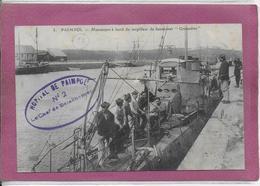 22.- PAIMPOL.- Manoeuvre à Bord Du Torpilleur De Haute-Mer Grenadier - Paimpol