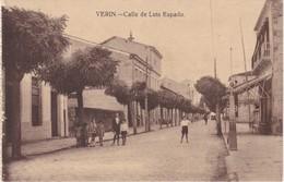 POSTCARD SPAIN ESPAÑA - GALICIA - ORENSE - VERIN - CALLE DE LUIS ESPADA - Orense