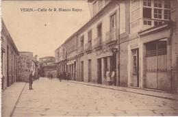 POSTCARD SPAIN ESPAÑA - GALICIA - ORENSE - VERIN - CALLE DE R. BLANCO RAJOY - Orense