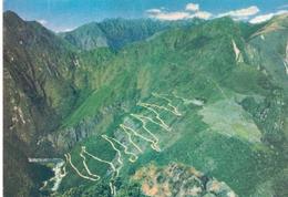 PERU POST CARD AEREO MACHUPICCHU 1966 (FEB201342) - Perù