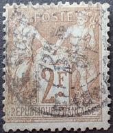 R1631/2262 - SAGE Type I N°105 - CàD - Cote : 55,00 € - 1876-1878 Sage (Type I)