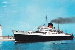 Ville D'Alger Compagnie Generale Transatlantique - Dampfer