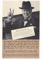 """Postcard Winston Churchill Prime Minister's Call & Giving The """" V """" Sign [ Reproduction Of WW2 Poster ] My Ref  B24127 - Politicians & Soldiers"""