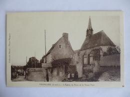 Francueil.  L'église, La Poste Et Le Vieux Puits. - Sonstige Gemeinden