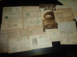LOT DE 28 CARTES POSTALES TOUTE DIFFERENTES SUR L'ESPERANTO ET L'INTERLINGUA DONT... - CARTE FANTAISIE ENFANT THEME (AH) - Esperanto