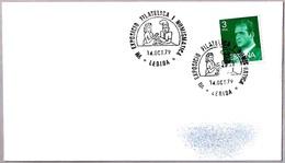 Matasellos VII EXPOSICION FILATELICA Y NUMISMATICA. Lerida 1979 - 1931-Hoy: 2ª República - ... Juan Carlos I