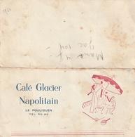 Le Pouliguen  (Café Glacier Napolitain ) - Autres Collections