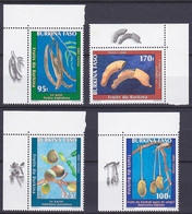 Série De 4 TP Neufs ** N° 1232/1235(Yvert) Burkina Faso 2000 - Fruits - Burkina Faso (1984-...)