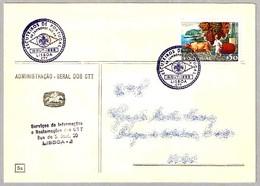 ESCUTEIROS DE PORTUGAL - XII JAMBOREE NO AR - SCOUTS. Lisboa 1969 - Brieven En Documenten