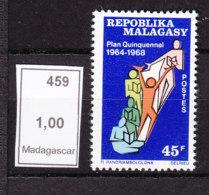 # Madagascar Malagasy .. YT  459  ** SC  Plan Quinquenal, Budget - Madagascar (1960-...)