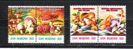 San Marino  - 1992. Funghi. Mushrooms. Complete Set - Funghi