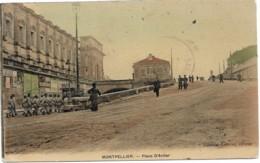 MONTPELLIER  PLACE D'AVILER     (EDIT SABATIER LAURIAC) - Montpellier
