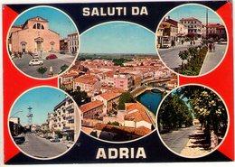 Saluti Da Adria (Ro). Multivisione. VG. - Rovigo