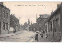 CPA 50 Annoeullin Apres Guerre Rue Du Marais - Autres Communes