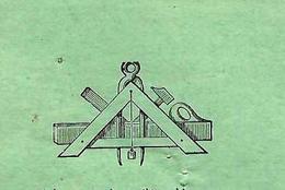 1926 FACTURE HENRI AUBRY QUINCAILLERIE THOUARS (Deux Sèvres) Symboles Franc Maçonnerie Pour Ranton Vienne VOIR SCANS - France