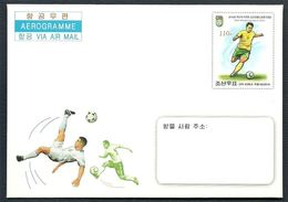 North Korea, World Cup 2014, Brazil, Aerogramme - 2014 – Brazilië