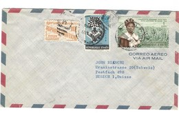 COVER - BY AIR MAIL - HAITI - POSTE AERIENNE - PORT-AU-PRINCE - ZURICH - SUISSE. - Haïti