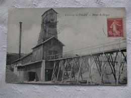 Canton De Blanzy_Environs De LE PULEY_Mines De Forges_voyagée En 1916_TBE - France