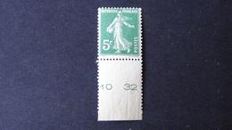 France - 1907 - Yt:FR 137b**MNH - Look Scan - Unused Stamps