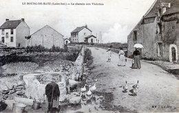 44  BOURG DE BATZ  LE CHEMIN AUX VIOLETTES - Batz-sur-Mer (Bourg De B.)