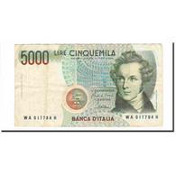 Billet, Italie, 5000 Lire, 1985, 1985-01-04, KM:111a, TTB - [ 2] 1946-… : Repubblica