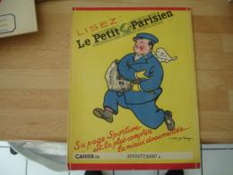 Le Petit Parision Theme Avion Aviation   Protege Cachier Cahiers - Omslagen Van Boeken