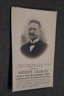 Auguste Lacroix,époux De M.Antoinette Jonet,controleur Au Chemin De Fer,vicinaux,Walhain-saint-Paul,décès En 1936 - Décès