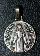 """Pendentif Médaille Religieuse """"Notre-Dame De Pellevoisin - Indre"""" Religious Medal - Religion & Esotérisme"""