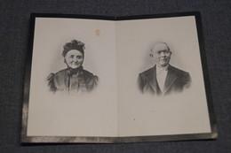 Pierre Defossez Né à Heppignies En 1908 Et Jeanne Rinchard Née A Spy,double Avis De Décès - Décès