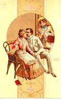 CPA  - Couple - écrite - Couples