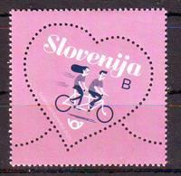 Slovenia 2019 Valentin Day Bicycle MNH - Eslovenia