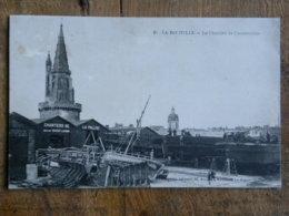 CPA (17) Charente Maritime - LA ROCHELLE - Le Chantier De Construction - La Pallice, Anc. Ets Decout Lacour - La Rochelle