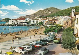 COSTA BRAVA. El Port De LA SELVA. Voitures: Simca 1500, Ariane . Citroën DS  Etc..... - Gerona