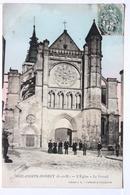 Brie-Comte-Robert  (S.-et-M.)_ L'Eglise - Le Portail - Brie Comte Robert
