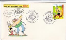 FDC Journée Du Timbre 1999 Astérix Oblitération  1er Jour De Beaugency - FDC
