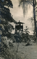 Photo-carte Stalag VIII C Mirador Sagan En Hiver Guerre WW2 Fonds Félix Gachet - Guerre, Militaire