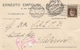 Roma.  1932. Cartolina Postale PUBBLICITARIA  ... FURGONCINI - TRICICLI - VELOCIPEDI ... - 1900-44 Vittorio Emanuele III