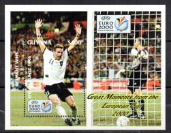 GUYANA   BF 370 * *  ( Cote 10e )  Euro 2000    Football  Soccer  Fussball Kuntz - Championnat D'Europe (UEFA)