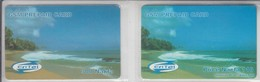ERITREA GSM PREPAID CARD BEACH 110 + 300 NAKFA - Eritrea