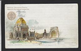 CPA Amérique Etats Unis Exposition 1893 World's Columbian Non Circulé - NY - New York