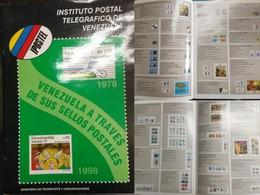 J) 1998 VENEZUELA, IPOSTEL POSTAL TELEGRAPHIC INSTITUTE OF VENEZUELA, MINISTRY OF TRANSPORTATION AND COMMUNICATIONS, COL - Books, Magazines, Comics