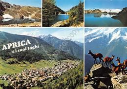 Cartolina Aprica E I Suoi Laghi Vedute Anni '80 - Sondrio