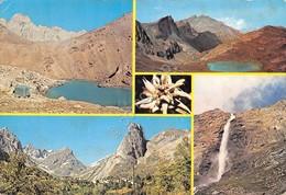 Cartolina Alta Val Maira Vedute Chiappera Lago Vallonasso Lago Finestra 1977 - Cuneo
