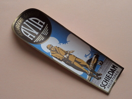AVIA Hollandsche GENEVER - SCHIEDAM Registered ( 4 Stuks ) Etiket / Etiquette / Label - Bottle / Bouteille / Fles ! - Otros