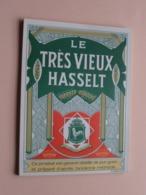 LE TRES VIEUX HASSELT / Behogne ( R.C. Brux.41.772 ) Etiket / Etiquette / Label - Bottle / Bouteille / Fles ! - Autres