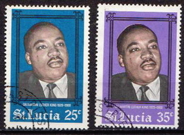 St. Lucia Used Pair - Martin Luther King