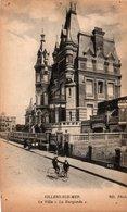 Carte Postale Ancienne - Dép. 14 - VILLERS Sur MER - Villa La BURGONDE - Trous De Punaises - Villers Sur Mer