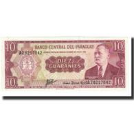 Billet, Paraguay, 10 Guaranies, 1952, 1952-03-25, KM:196a, NEUF - Paraguay