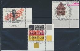 BRD Mi.-Nr.: 2962,2963,2970 (kompl.Ausg.) Gestempelt 2012 Sieben, Hauptmann, Fachwerk (9318704 - BRD